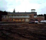 The current Sechelt Public Library shortly after its completion, 1996.  (Sechelt Community Archives)