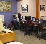 Sechelt Library computer area