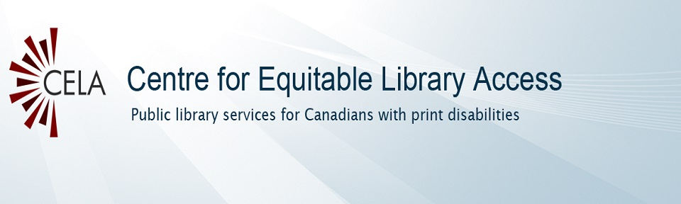 Access books in many formats with CELA