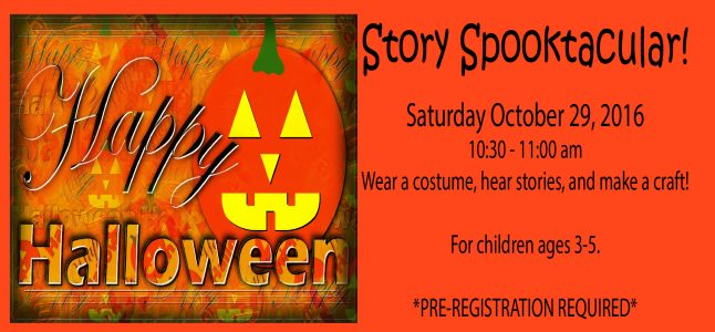 Halloween Story Spooktacular