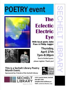 Poetry event - The Eclectic Electric Eye