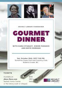 GourmetDinner28Oct2017SCGCC