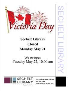 Library Closed Victoria Day