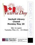 Victora Day Closed Monday May 20