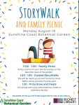Storywalk and Family Picnic - Monday August 19