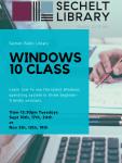 Windows 10 Class