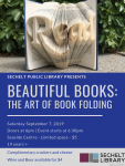 Book Folding Event - Saturday September 7, 2019