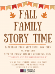 Fall Family Storytime - 2019