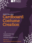 Youth Drop-in - Cardboard Costume Creations