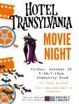 Hotel Transylvania Movie Night