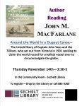 John MacFarlane Author Reading