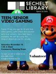 Teen volunteers needed