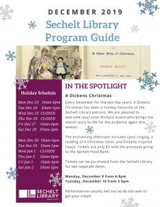 December 2019 Sechelt Library Program Guide