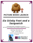Six Stinky Feet and a Sasquatch by Heather Conn book launch