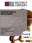 Dungeons and Dragons - Winter/Spring 2020