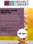 February Board Game Drop-in - All Ages