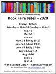 Book Faire Dates 2020