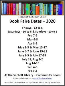 Book Faire Dates - 2020