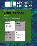 January and February 2020 Youth Drop-in