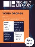 March to May 2020 Youth Drop-in