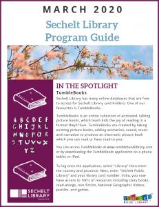 March 2020 Program Guide