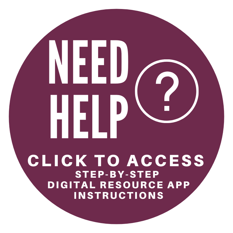 Help with Digital Resource apps