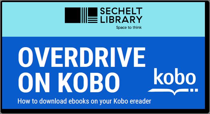 OverDrive on Kobo Help