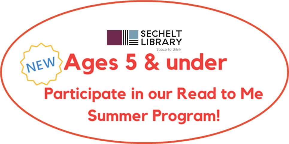 Summer Reading Club 2020 - Read to Me Reading Log Instructions - ages 5 and under