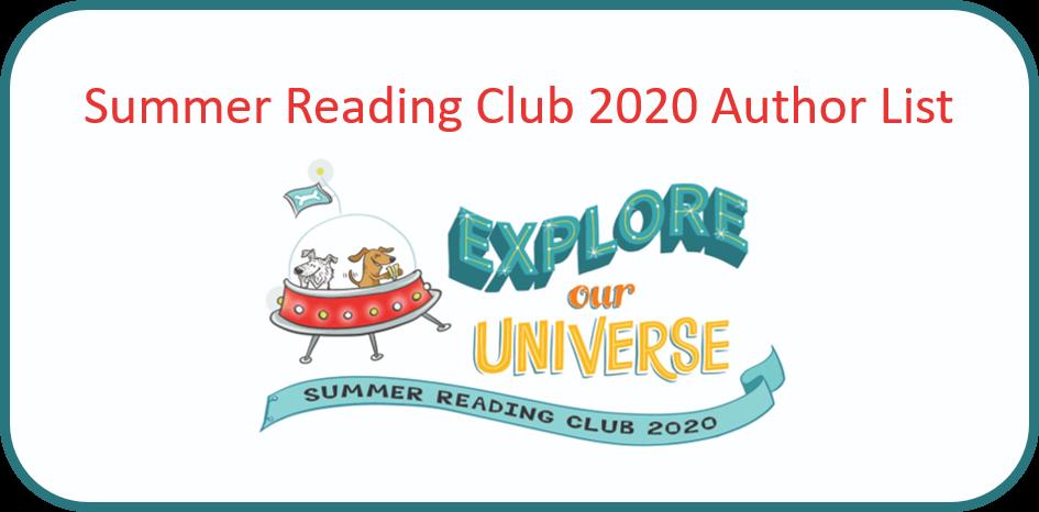Summer Reading Club 2020 title list