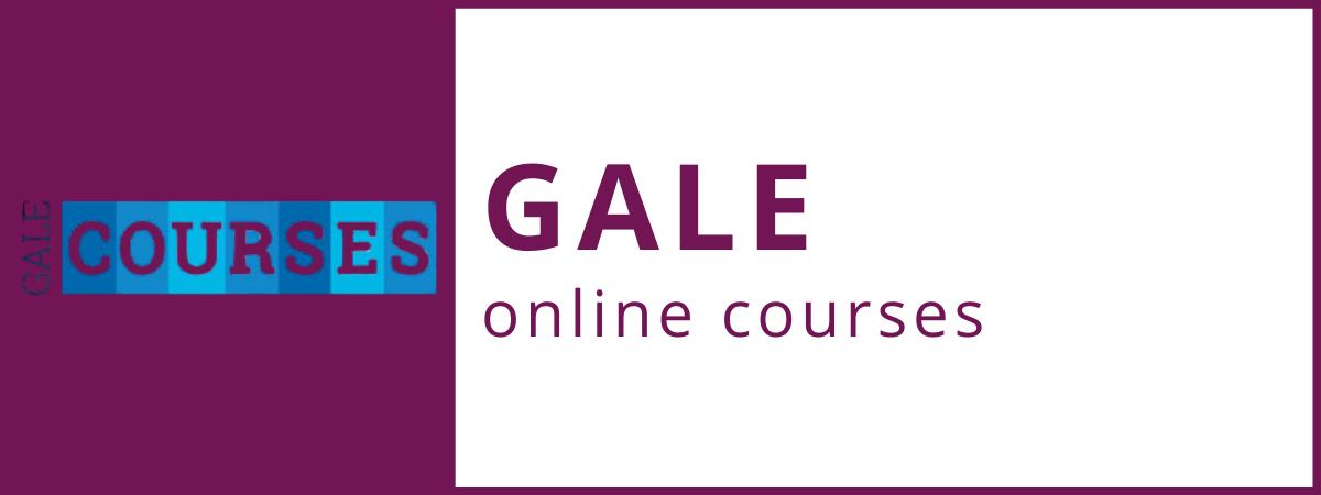 Gale online courses