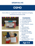 Osmo STEAM kit