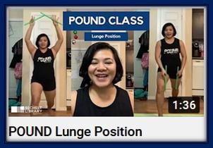 POUND Lunge Position