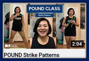 POUND Strike Patterns