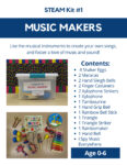 Music Makers STEAM kit