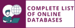 Complete list of online databases