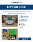 Let's go code STEAM Kit