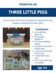 Three Little Pigs STEAM Kit