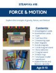 Force & Motion STEAM Kit