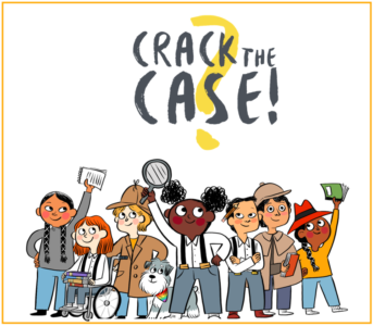 Summer Reading Club 2021 - Crack the Case!