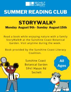 StoryWalk® - August 2021